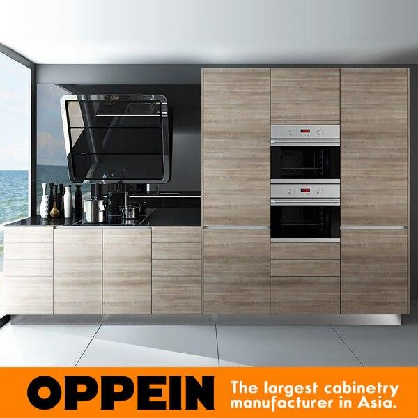 2016 Latest Styles Kitchen Cabinet Furniture China Manufacture Modern  Design Wooden Kitchen Cabinet Blum Hardware OP16 M05