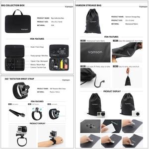 Image 4 - Vamson pour Gopro 7 kit daccessoires pour xiaom yi 4k pour gopro hero 7 6 5 4 3 kit de montage pour SJCAM SJ4000/eken h9 trépied VS56