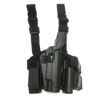 Army Pistol Colt 1911 Holster Tactical Airsoft Paintball Gun Leg Holster Right Hand Military Shooting Quick Drop Holsters