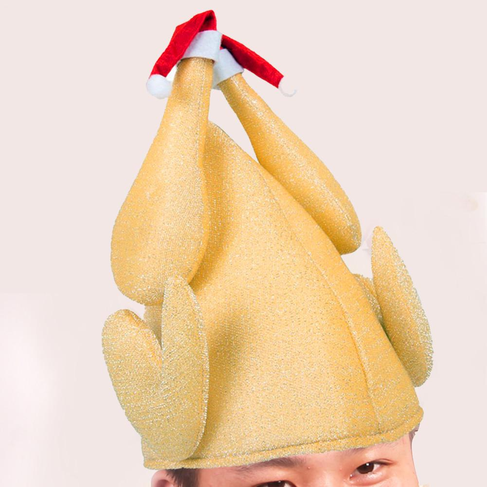 christmas hat thanksgiving day funny turkey hat christmas thanksgiving day chicken shape party hats adults in party hats from home garden on - Funny Christmas Hats Adults