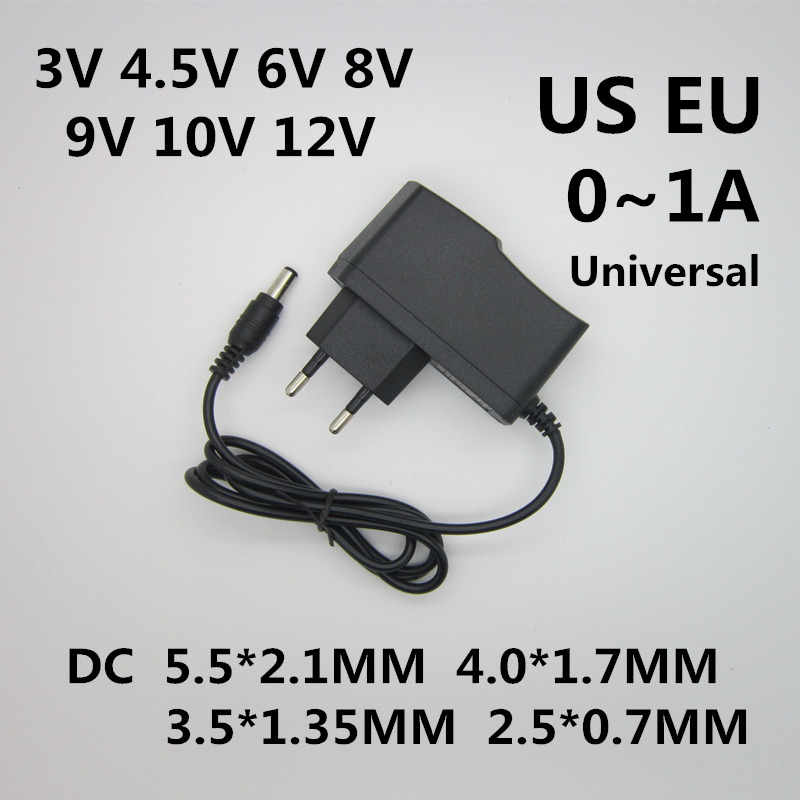 Center Positive 10V AC 4000mA 4A Power Supply AC Adapter Charger 5.5mm x 2.5mm