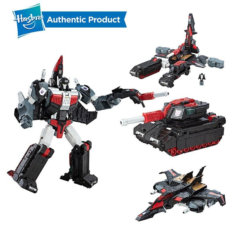 Transformadores Hasbro Brinquedos Titans Gerações Retorno Líder Sky Shadow e Ominus Decepticons Modelo Coleção Figura de Ação Bonecas