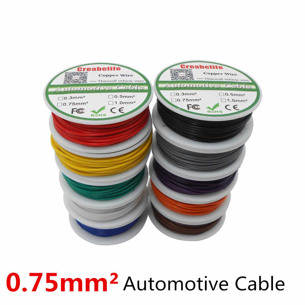 hight resolution of detail feedback questions about 30m spool p1 or p2 0 75 mm2 auto cable 12 24v 24 0 2mm stranded copper wire cores thinwall car vehicle wire connection wire