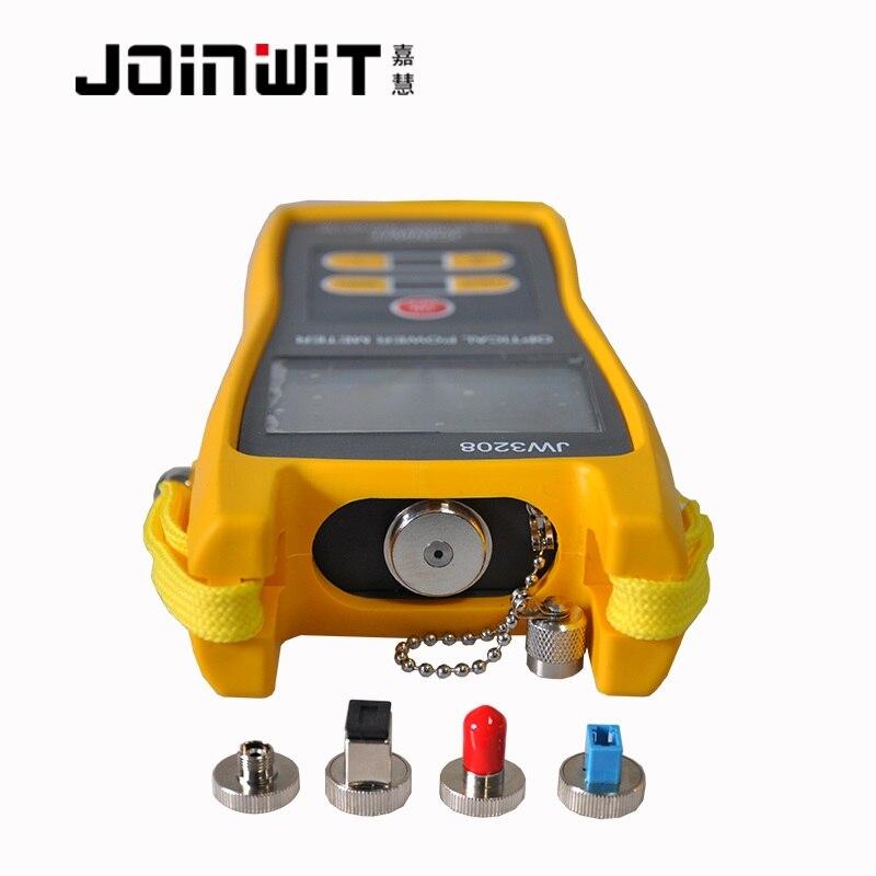 JoinWit JW3208C compteur de puissance à Fiber optique-50 ~ + 26dBm avec connecteur LC FC SC ST utilisé dans le domaine CATV
