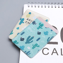 W52 1X Cute Kawaii Fresh Fruit Double-Layer Card Holder Bus Business Credit Cover Case Wallet