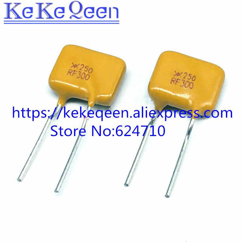 10 PCS/LOT TRF250-300 X250RF300 Pemulihan Diri Sekering PPTC 250 V 0.3A 300MA