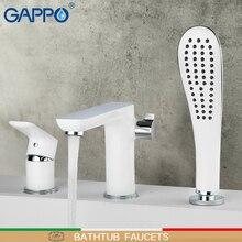 GAPPO Смесители для ванной комнаты, смеситель для душа, кран для ванны, настенный смеситель для ванны, водопад, кран для раковины, смеситель