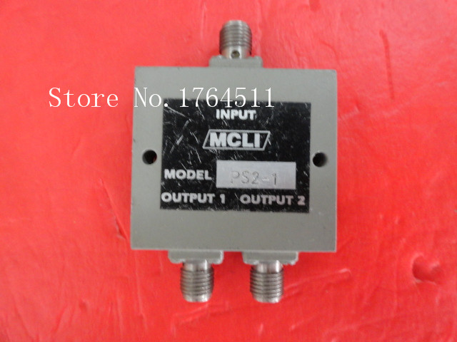 [BELLA] MCLI PS2-1 0.5-1GHz A Two Supply Power Divider SMA