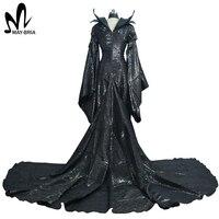 2015 Halloween Costumes For Men Women Maleficent Dress Maleficent Costume Adult