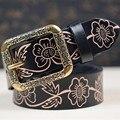 Genuine Leather Women Belts Fashion Belts Cintos Cinturon Vintage Exquisite Designer Belts For Women Free Shipping