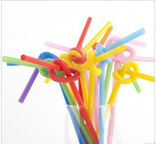 Free shipping  A disposable child creative tea/ Cola/ straw wholesale  2000pcs/lot
