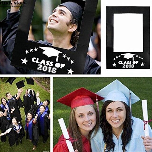 Clase de 2018 graduación feliz party Photo Booth prop foto Marcos ...