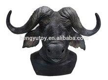 Artificial Halloween Masquerade Parties Bull Cosplay Gadget Latex Buffalo Cattle Mask