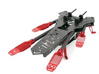 DIY FPV big cross drones Alien quadcopter Red Dragonfly 700 carbon fiber frame 700mm Wheelbase
