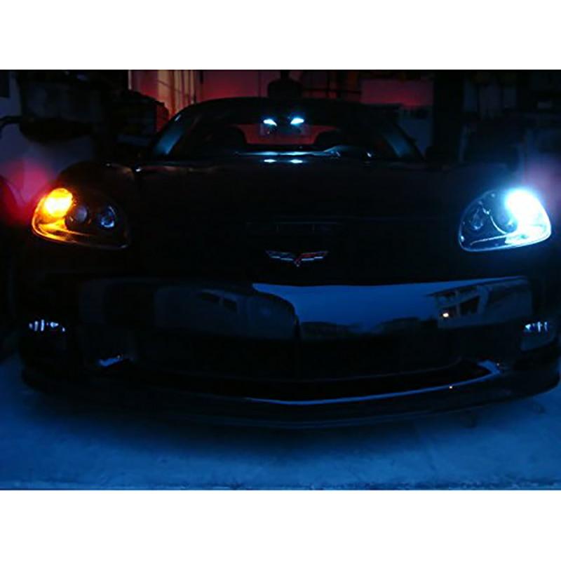 2X Super Bright 1156 BA15S 1157 BAY15D 3014 48 SMD P21 / 5W Auto LED - Auto lukturi - Foto 6