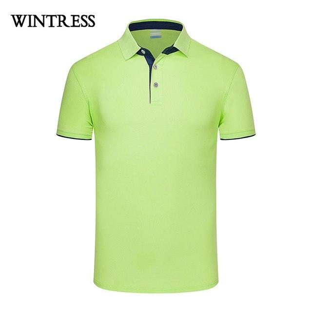 f1915655 WINTRESS Natural Color Summer Women Polo Shirt Short Sleeve Solid Bump Side  All-Match Polo Shirt Custom Logo