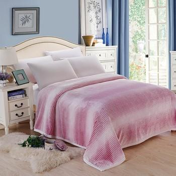 2018 nowych moda koc łóżko łóżko pojedyncze łóżko queen king z wełny flanelowej tkaniny sofa rzuć koc dla dorosłych supermiękki koc