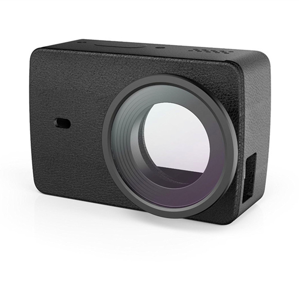 YI 4K Action Camera Protective Lens and Leather case 2