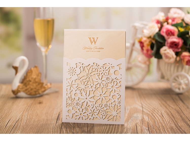 Our Wedding Invitations Gate Pocket Fold 5 X 7 In Bronze Metallic Invitation Mat 4 75 6 Rose Rsvp 8 11 Chagne