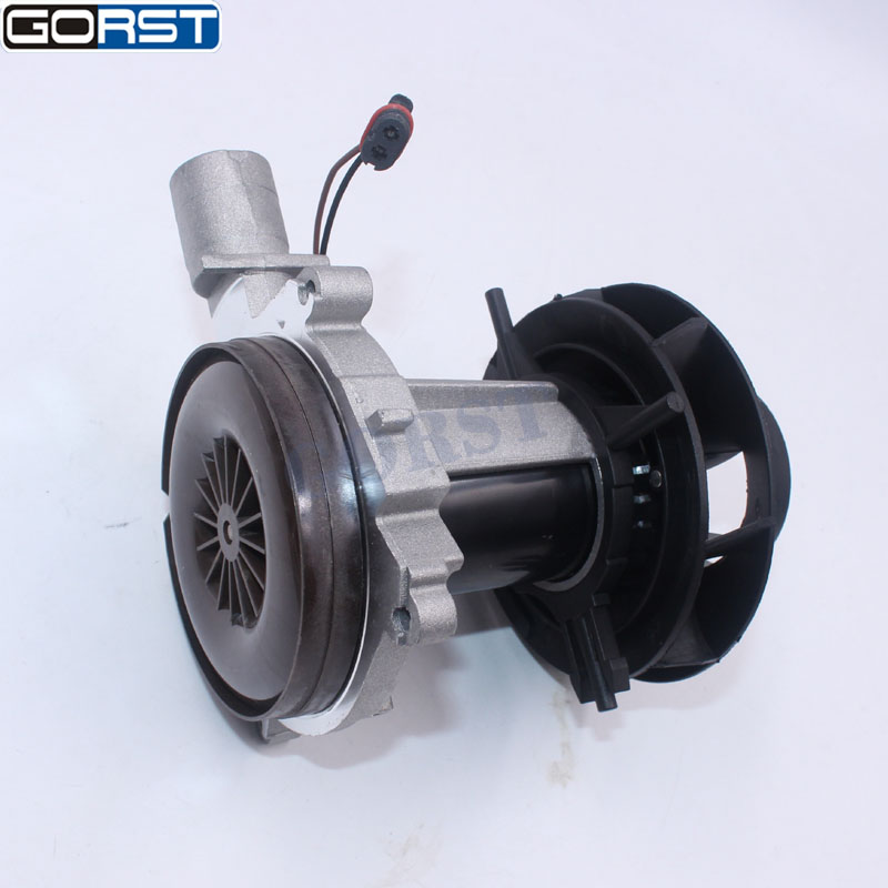 Auto parts 2KW 12V 24V blower motor big leaf assembly combustion air fan For Eberspacher D4 Car Air Diesel Heater Truck parts-11