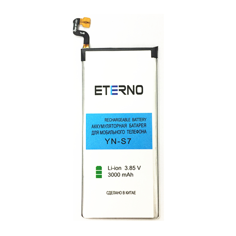 Eterno Оригинальные Замена Батарея eb-bg930abe для <font><b>Samsung</b></font> Galaxy S7 G9300 sm-g9300 сотовый телефон 3000 мАч