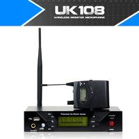 Free shipping Wireless In Ear Monitor System for Stage Performance 1 Receiver Single Transmitter with USB Interface