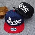2016 Nueva York Gorra de Béisbol de Algodón Marca de Moda Plana Ajustable gorra de béisbol de la bandera snapback hats hip hop gorras de baloncesto unisex B