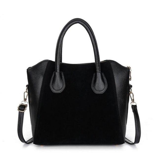 ГОРЯЧАЯ! модные сумки 2016 женщин нубук лоскутное сумки смайлик мешок женщин сумка женские сумки HJPHOEBAG