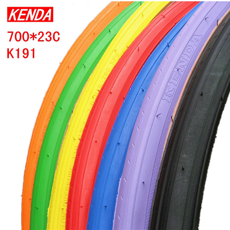 KENDA Bicycle Tire 700C 70023C Colored Road Bike Tires Ultralight 450g Fixed Gear Tyres High Quality Non Slip Wear Resisting In From Sports