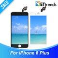 20 ШТ./ЛОТ Класса ААА Нет Dead Pixel ЖК-Дисплей Для iPhone 6 плюс ЖК-Экран Полный ЖК-ДИСПЛЕЙ и Дигитайзер Ассамблеи DHL Свободный Корабль