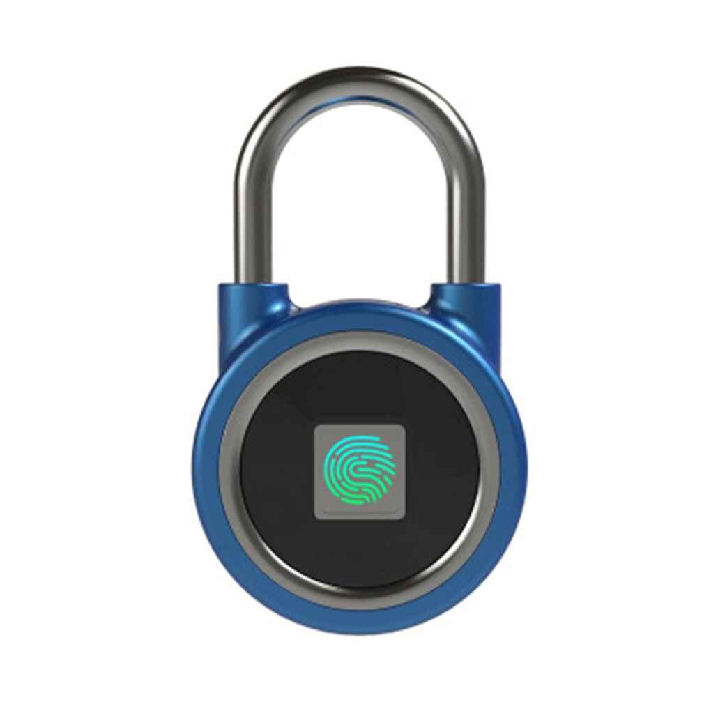 Serrure d'empreinte digitale étanche Rechargeable sans clé coffre-fort intelligent Anti-vol cadenas porte Lockstick