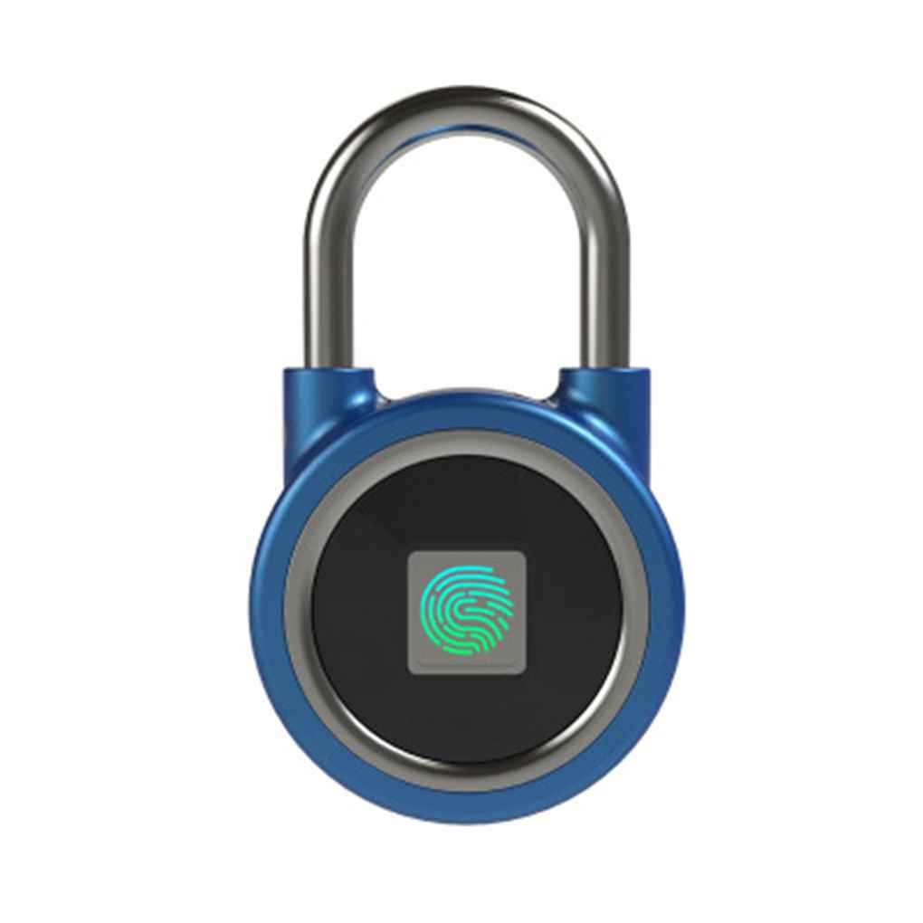 Waterproof Fingerprint Lock Rechargeable Keyless Safe Smart Anti-theft Padlock Door LockstickWaterproof Fingerprint Lock Rechargeable Keyless Safe Smart Anti-theft Padlock Door Lockstick