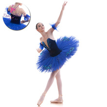 d41226011 Royal Blue Velvet Bodice Pre-professional Ballet Tutu Girl & Women Ballet  Tutu Ballerina Dance