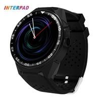 2018 Новый interpad Смарт часы WI FI 3G GPS с Фитнес трекер сердечного ритма трекер SmartWatch Android 5.1 5.0mp Умные часы