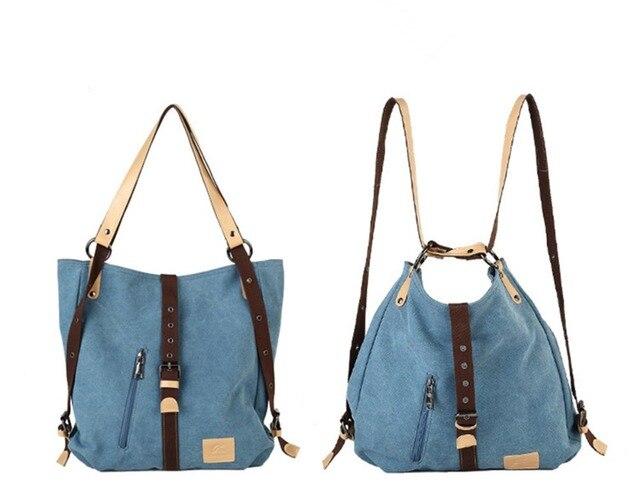KVKY Fashion Famous Brands Designer Magic Girls Schoolbag 2 In 1 Casual  Totes Women Shopper Canvas Shoulder Beam Port Cute Bag 7adc5e4b21f64