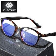 UNIEOWFA, gafas graduadas redondas Retro Para mujer y hombre, gafas ópticas para miopía, gafas con luz azul, gafas fotocrómico progresivo