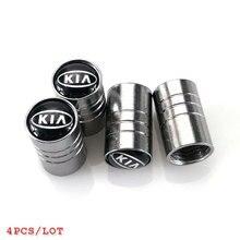 Car-styling Tire Valves Tyre Stem Air Caps case For Kia rio ceed sportage cerato soul sorento k2 k5 flip accessories Car styling