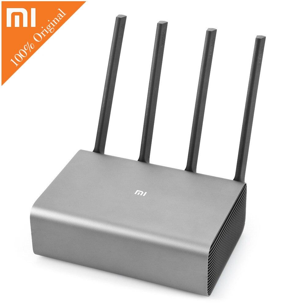 Routeur Xiao mi mi Pro R3P 2600 Mbps Wi-fi Wi-fi routeur Wifi sans fil intelligent 4 antennes double bande 2.4 GHz 5.0 GHz dispositif réseau Wifi