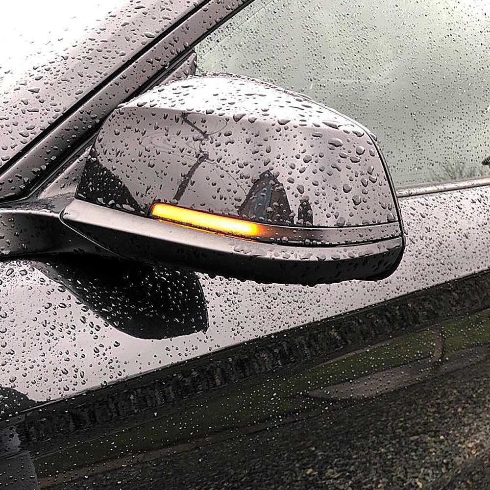 Anzulwang Năng Động Blinker Biến Tín Hiệu Đèn LED Cho Xe BMW F20 F30 F31 F21 F22 F23 F32 F33 F34 X1 E84 f36 1 2 3 4 F87 M2