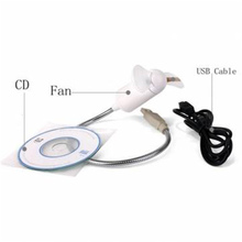 New fashion Portable Mini USB LED Fan Flexible Programmable LED Cooler Cooling Fan DIY Programming Any Characters Messages Word