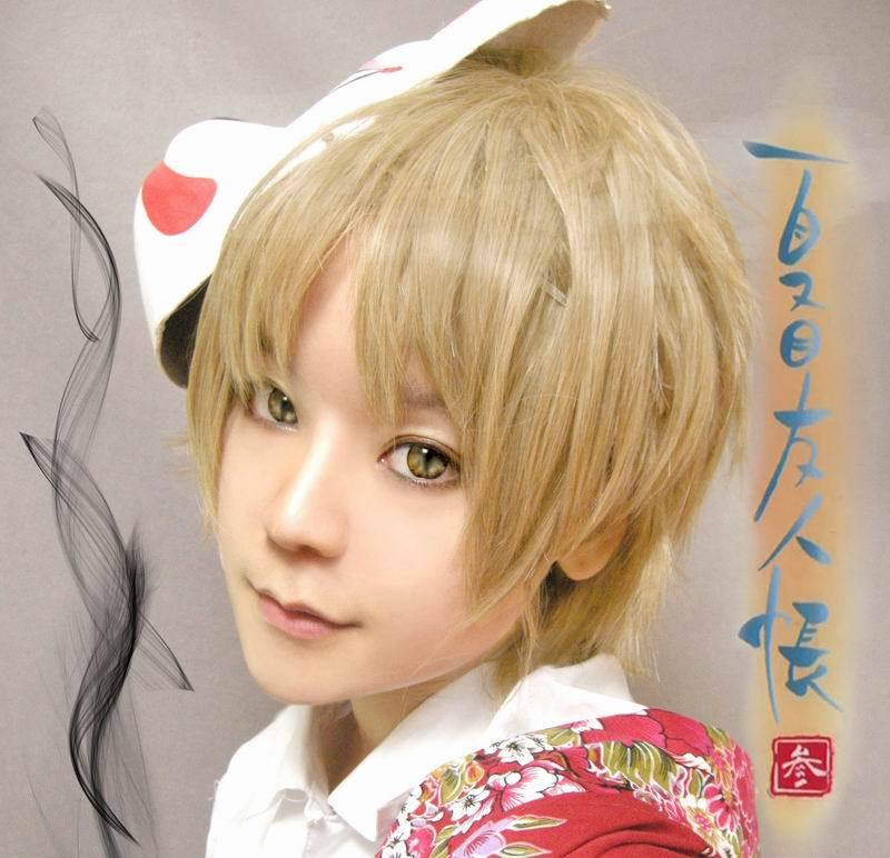 Factory Supplier Blonde Short Shaggy Layered Anime Cosplay
