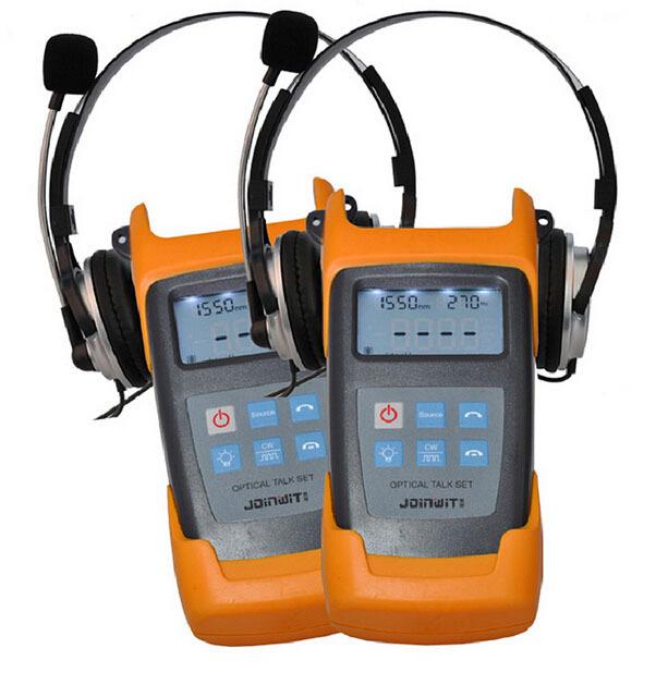 JW4103N 1310/1550nm de mano de fibra óptica talk set Envío Libre de Dhl/UPS/EMS