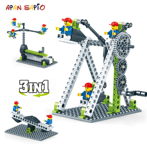 Technic Building Blocks Series 3in1 City Mechanical Engineering Figure Brick Compatible Brands Educational Toys for Children