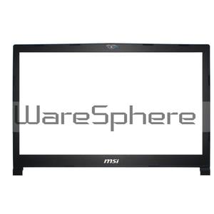 Image 3 - Nouveau Original pour MSI GE73VR 17C7 LCD couvercle arrière/lunette avant/repose main/boîtier inférieur/clavier rétro éclairé américain noir