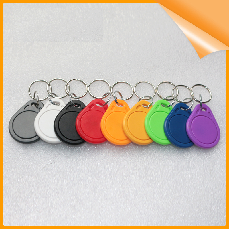 (1000pcs) T5577 Rewritable Programmable Rfid 125 Khz Keychain Keyfobs Key Finder For Copy Em4100 Cards And Digestion Helping