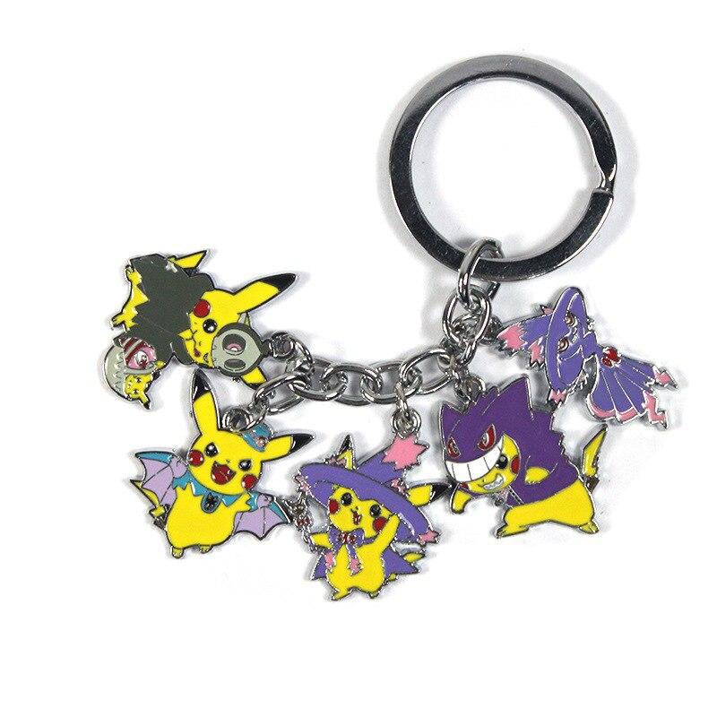 jewelrygift-pikachu-in-halloween-the-font-b-pokemon-b-font-pocket-monster-mismagius-gengar-halloween-pikachu-keyring-keychain-pendant-fans