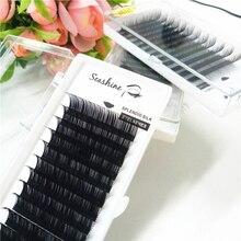Professional Makeup supply Individual Eyelash Extension Handmade Artificial Fake False Eyelashes