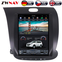 ZWNVA Tesla IPS Screen Android 7.1 Car GPS Navigation Radio No CD Player For KIA CERATO K3 FORTE 2013 2014 2015 2016 2017 шнур оптический соединительный sc sc apc sm 9 125 simplex 3 м
