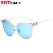ZK20 MIXSIGHT 2018 UV400 Estilo Oversize Cat Eye Sunglasses Mulheres Moda  Verão Tamanho Grande Moldura de Espelho Óculos de Sol . 5ec7991f3e