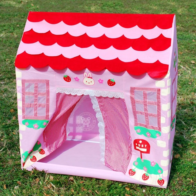 Kids Playhouse Tent Pink Princess Playhouse Blue Playhouse Birthday Gifts for Babies  sc 1 st  AliExpress.com & Kids Playhouse Tent Pink Princess Playhouse Blue Playhouse ...